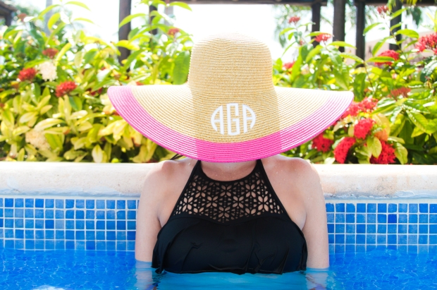 monogram hat - mexico